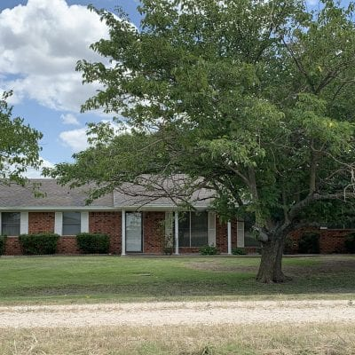SOLD   1 ACRE W/HOME IN IRENE, TX