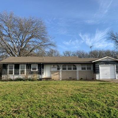 UNDER CONTRACT    1203 Corsicana Hwy., Hillsboro