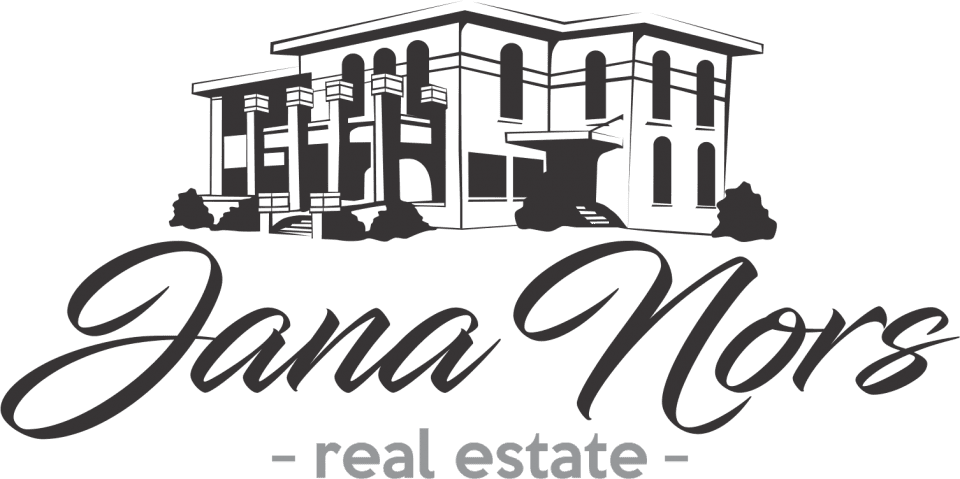 Jana Nors Real Estate Logo - horizontal small